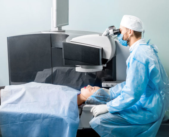 opération au supracor laser